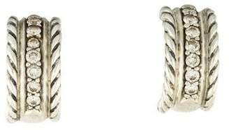 David Yurman Diamond Cable Classics Earrings