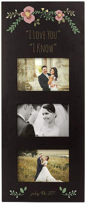 Cathy's Concepts CATHYS CONCEPTS Personalized Three Window Picture Frame