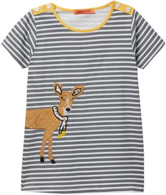 Funkyberry Deer Dress (Baby, Toddler, & Little Girls)