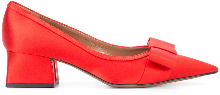 MarniMarni pointed bow pumps