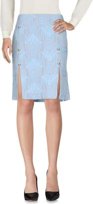 John Richmond Knee length skirts