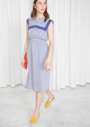 And other stories Nautical Sailor Dress