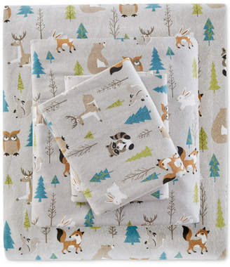 Sleep Philosophy True North by Sleep Philosophy 4-Pc. Cotton Flannel Queen Sheet Set