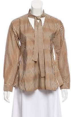 Marni Striped Long Sleeve Top