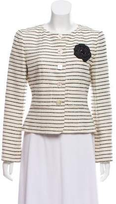 Chanel Sequined Camellia Jacket