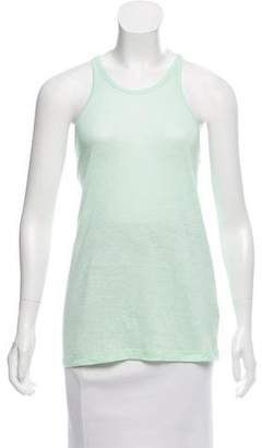 Alexander Wang Linen Sleeveless Top