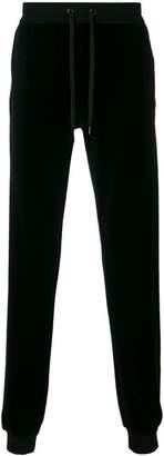 Versace velvet track pants