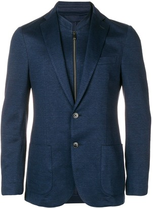 Corneliani layered blazer