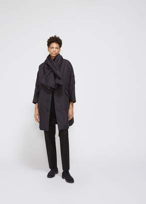 Pleats Please Issey Miyake Long Clip Coat
