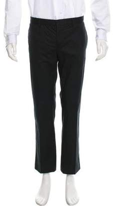CNC Costume National Flat Front Relaxed-Fit Pants