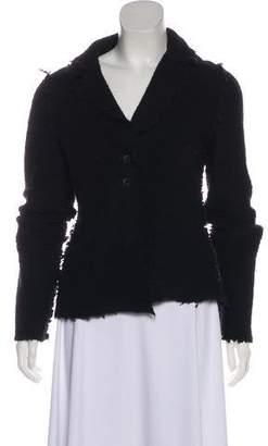 Lanvin Alpaca & Wool Knit Jacket
