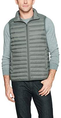 Amazon Essentials Men's Lightweight Water-Resistant Packable Down Vest