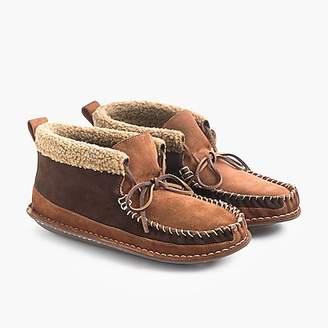 J.Crew Wallace & Barnes shearling chukka slippers