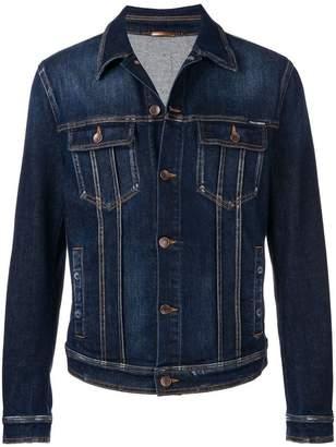 Dolce & Gabbana fitted denim jacket