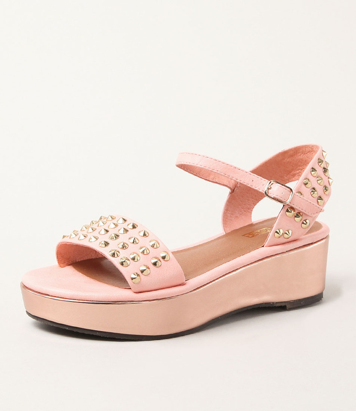 Soles South Bound Deluxe Papaya Rose Gold