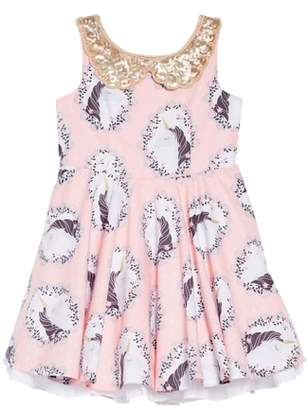 Fiveloaves Twofish Unicorn Fit & Flare Dress