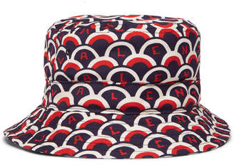 Valentino Garavani Printed Cotton-Twill Bucket Hat - Men - Navy