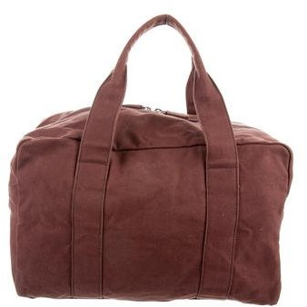 pradaPrada Woven Duffle Bag