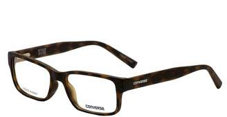 Converse Eyeglasses Q046 Q/046 Matte Tortoise Fashion Full Rim Optical Frame 52mm