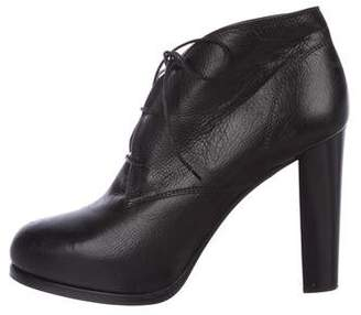 Bruno Magli Leather Ankle Booties