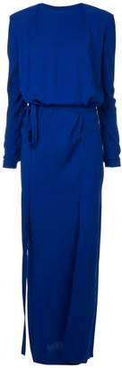Haider Ackermann long fitted dress