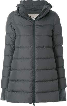 Herno padded long line jacket