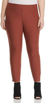 Eileen Fisher Plus Straight-Leg Ankle Pants