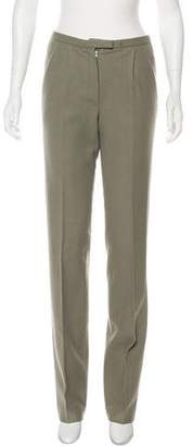 Hermes Wool Straight-Leg Pants