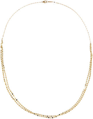Lana 14k Nude Blush 2-Row Necklace