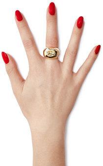 Aurelie BidermannAurélie Bidermann Lauren 18kt Yellow Gold Plated Ring