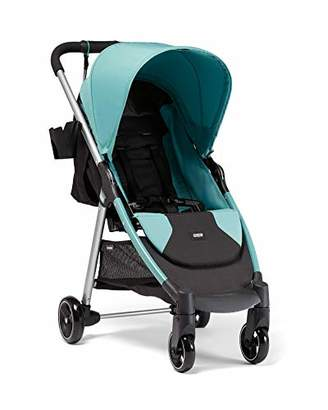 Mamas and Papas Armadillo City2 Slim Folding Pushchair, Compact and Lightweight Travel System, Spacious from Birth, Duck Egg