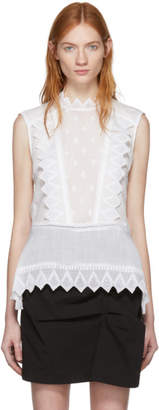 Isabel Marant White Nust Tank Top