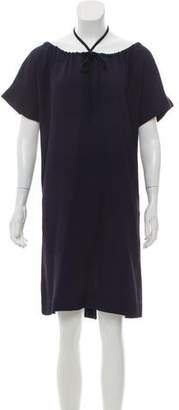 Fendi Bateau Knee-Length Dress