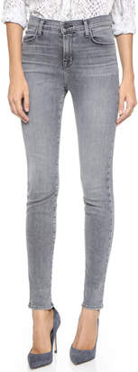 J Brand Maria High Rise Skinny Jeans $238 thestylecure.com