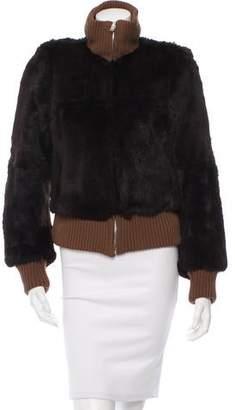 Alexander McQueen Reversible Sheared Mink Jacket