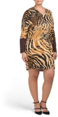 Bengal Tiger Sheath Dress