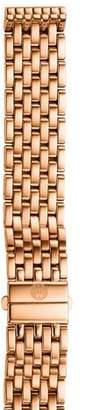 Michele 16mm Deco Rose Gold Bracelet Strap