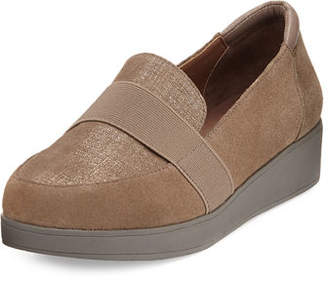 Donald J Pliner Veree Suede Comfort Loafer