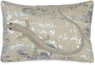"""Michael Aram Palm Lizard 8""""x12"""" Decorative Pillow Bedding"""