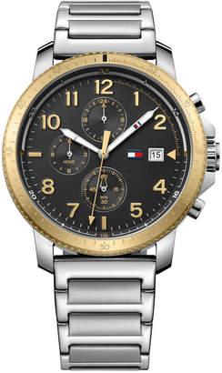 Tommy Hilfiger Men's Casual Sport Stainless Steel Bracelet Watch 44mm 1791361 $165 thestylecure.com