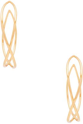 gorjana Autumn Hoop Earrings $65 thestylecure.com