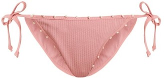 Marysia Swim St Tropez Tie Side Bikini Briefs - Womens - Pink