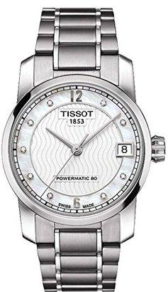 Tissot (ティソ) - [ティソ]TISSOT 腕時計 TITANIUM AUTOMATIC Lady T087.207.44.116.00 レディース 【正規輸入品】
