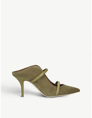 Malone Souliers Maureen 70 suede mules