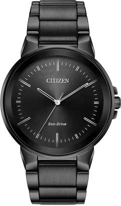 Citizen Men's Eco-Drive Axiom Gray Stainless Steel Bracelet Watch 41mm
