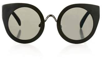 Topshop Marvis metal cateye sunglasses
