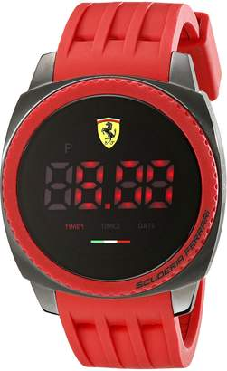 Ferrari Men's 830228 Aerodinamico Digital Display Quartz Red Watch