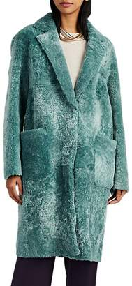 Barneys New York Women's Shearling Coat