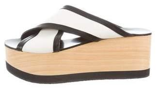 Isabel Marant Platform Slide Sandals