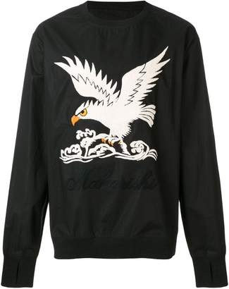 MHI eagle embroidered sweatshirt
